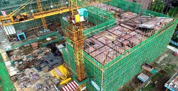 金堂县中医医院二期项目主体封顶 预计2020年投入使用